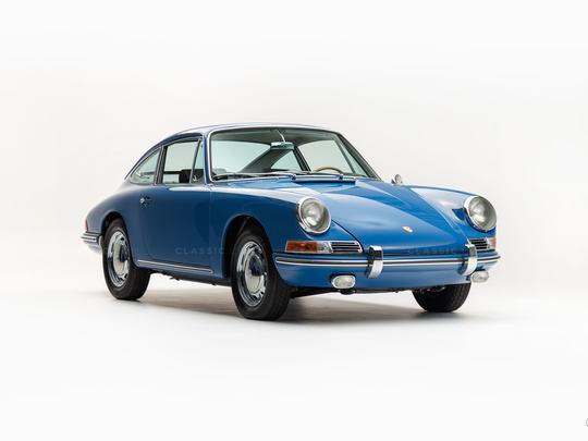 1965 Porsche 911 Golf Blue