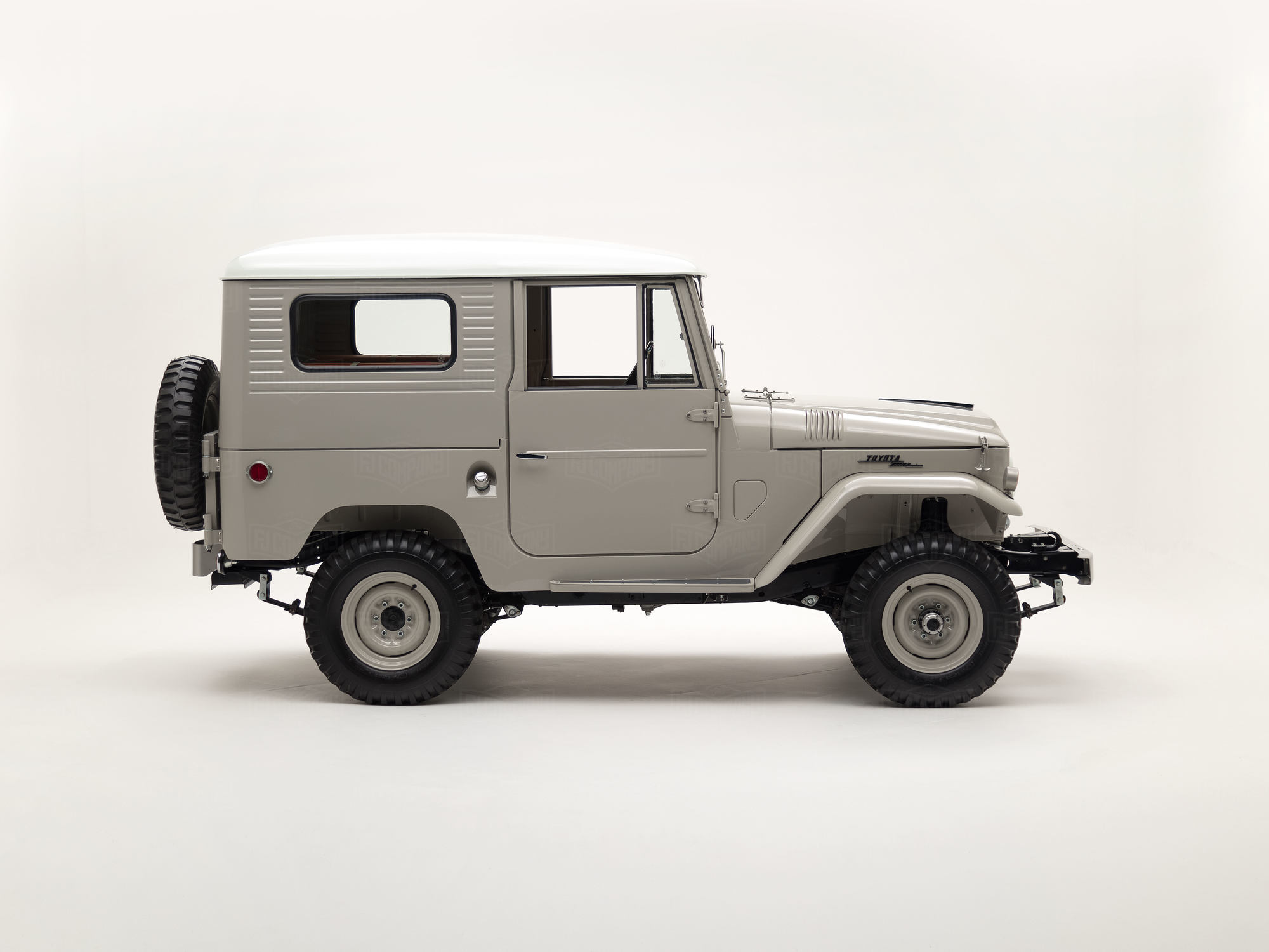 A collector's edition FJ40, seeped in authenticity.