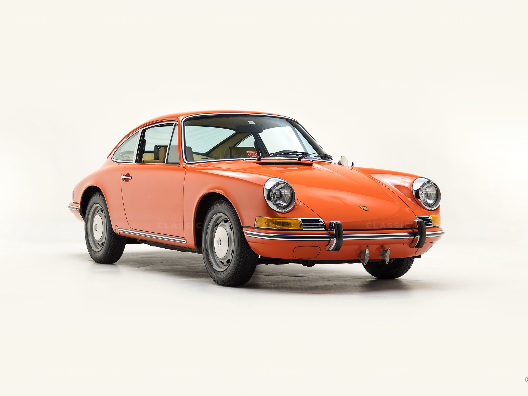1970 Porsche 911T Tangerine