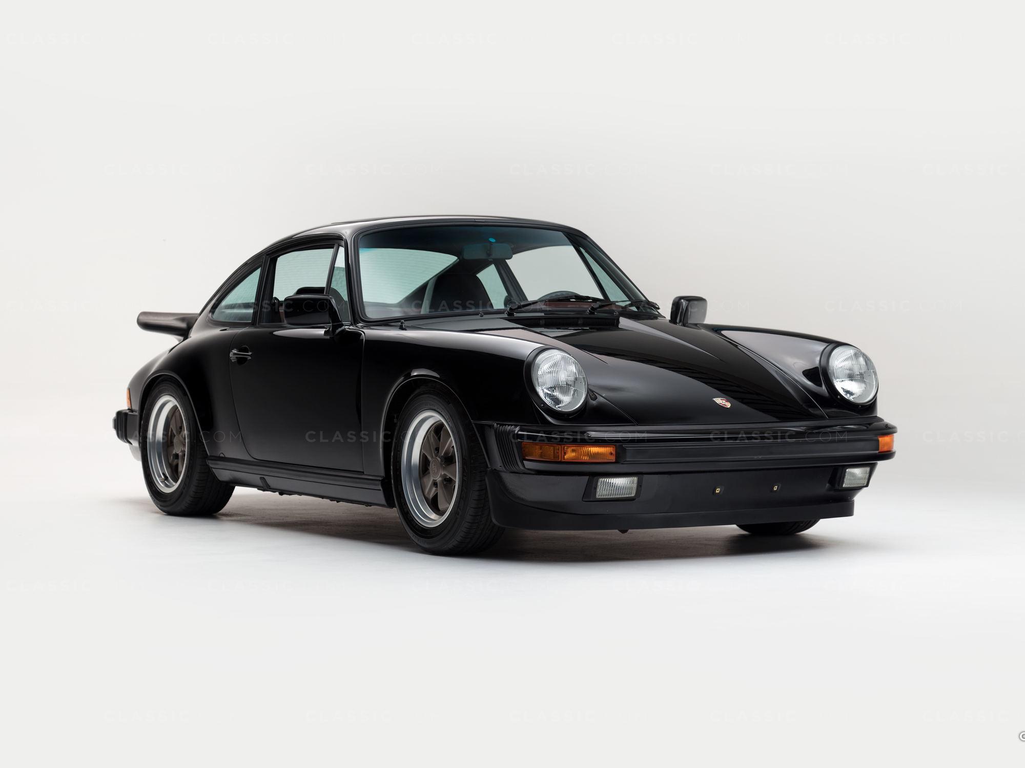 1984 Porsche 964 Black