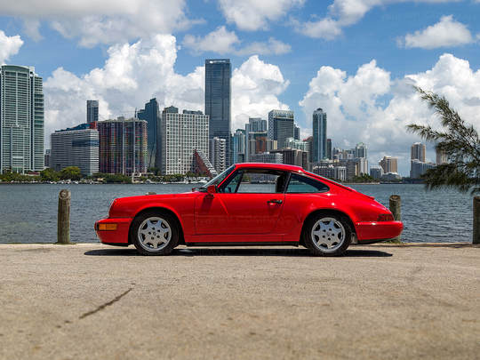 This Porsche Coupe is for those who want a classic car that offers a modern drive.