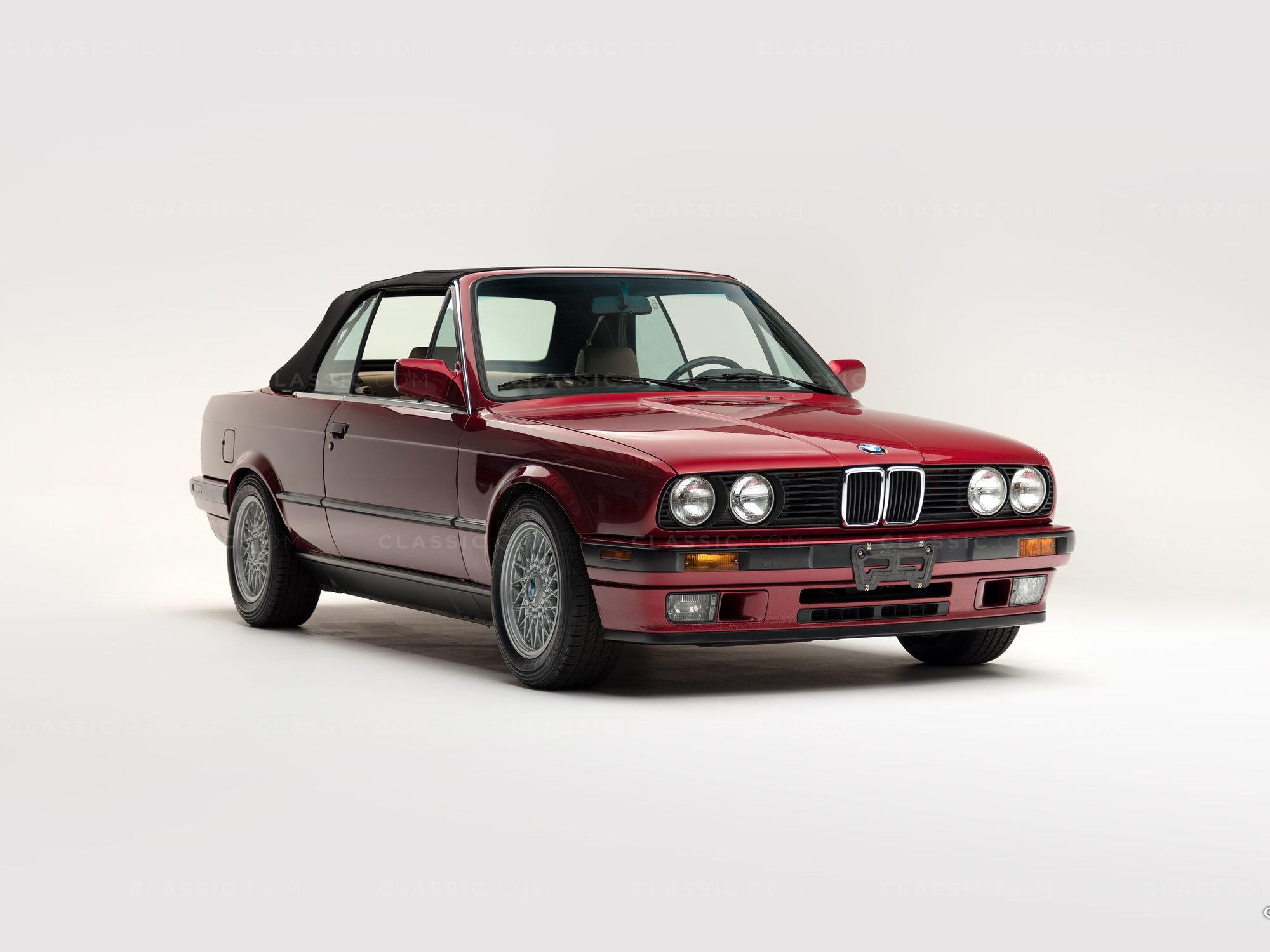 1992 BWM 325i Red