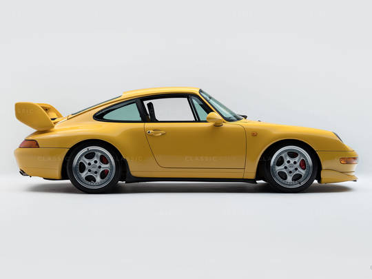 1992 Porsche 964 RS Yellow