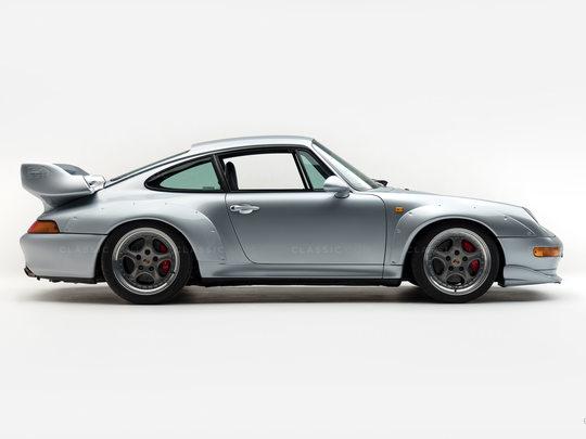 1995 Porsche 993 GT 2 Silver