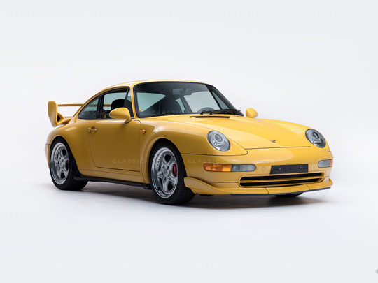 1995 Porsche 993 RS Yellow