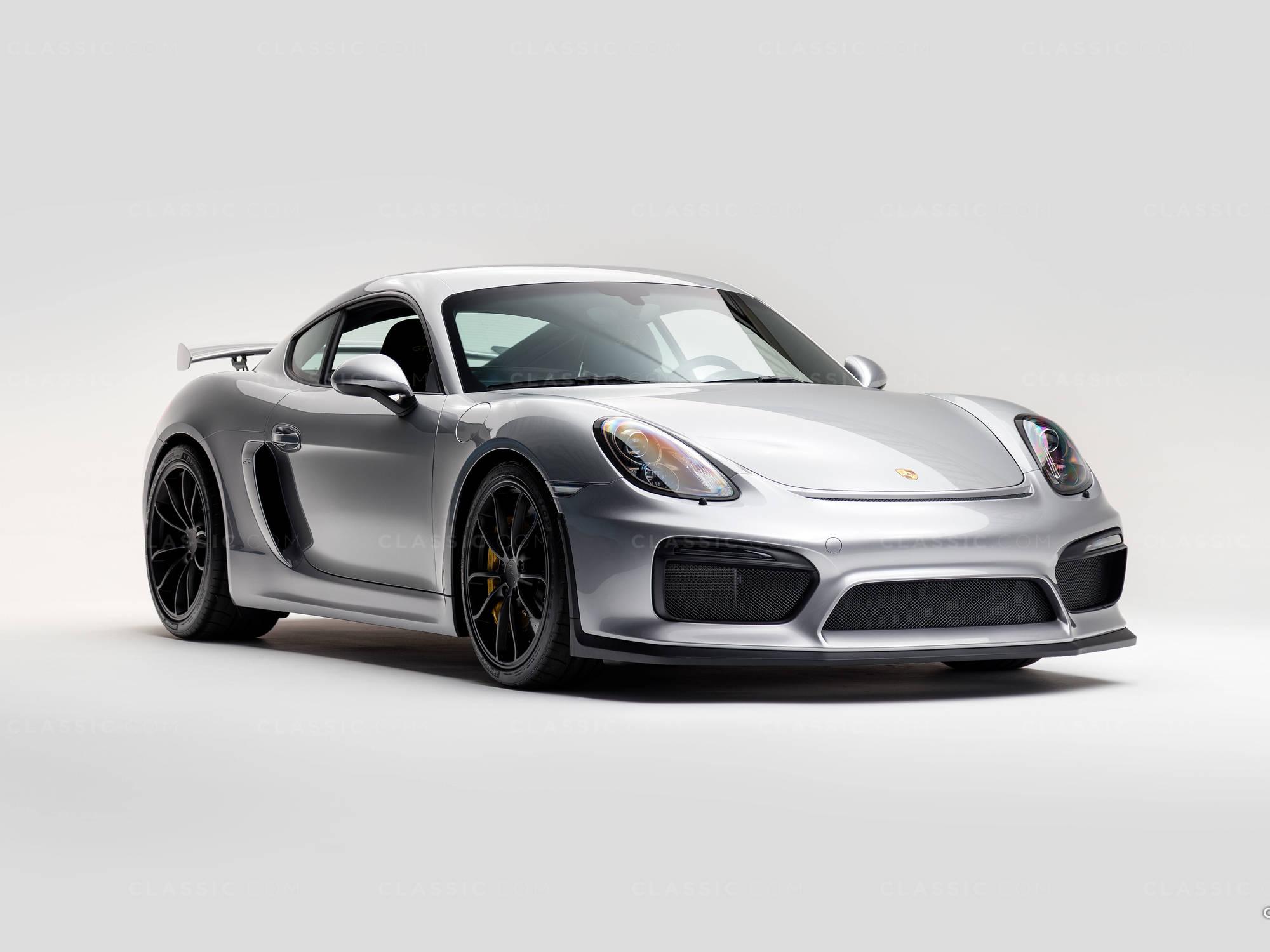 2016 Porsche GT4 Cayman Silver